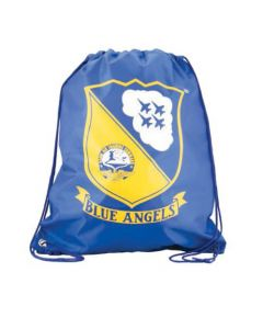 Blue Angels Drawstring Bag