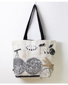 Astronomy Canvas Shoulder Tote