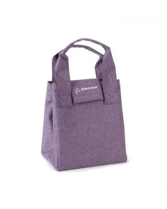 Purple Boeing Logo Heathered Lunch Tote
