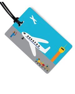 Airport Luggage Tag