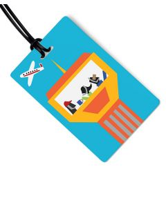 Air Traffic Control Luggage Tag