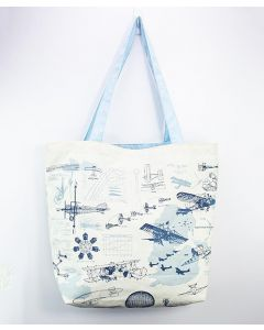 Flight Science Canvas Tote