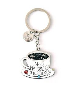I Need My Space Keychain