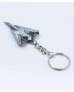 Pewter F-14 Keychain