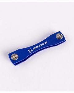 Blue Boeing Logo Key Organizer