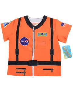 Orange My First Career Astronaut Costume Shirt