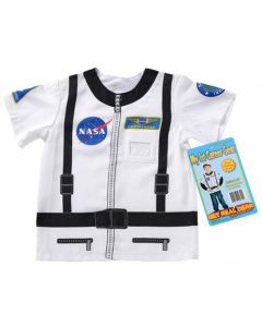 White My First Career Astronaut Costume Shirt