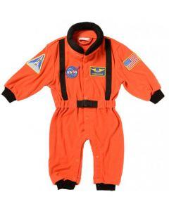 Orange 6-12 Months Old Astronaut Suit