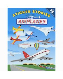 Airplanes Sticker Stories