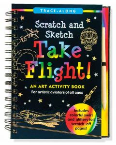 Take Flight Scratch and Sketch book