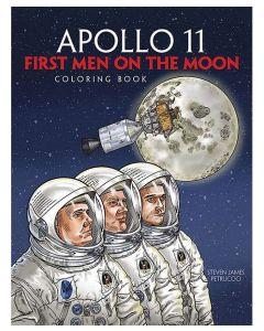 Apollo 11: First Men on the Moon Coloring Book