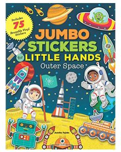 Jumbo Stickers Little Hands: Outer Space