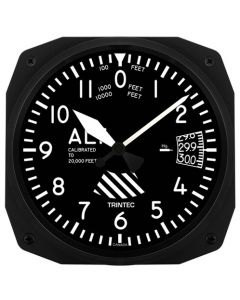 Square Altimeter 10 Inch Wall Clock