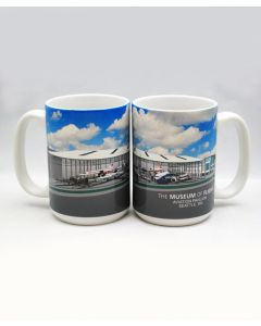 Aviation Pavilion Panorama 15oz Mug