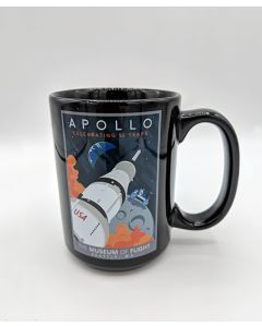 Saturn V Apollo 15oz Mug
