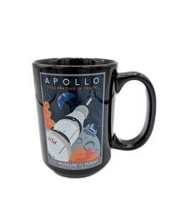 Saturn V Apollo 15oz Mug