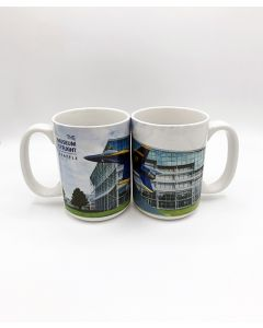 Blue Angel F/A-18 Museum of Flight Gate Guard Mug