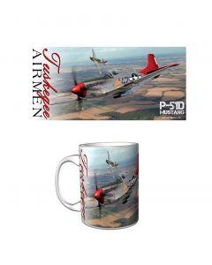 P-51D Tuskegee Airmen 15 oz Mug
