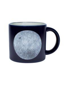 Moon Footprint Inside Heat Activated Mug