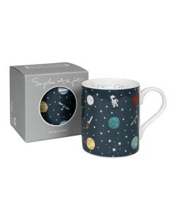 Blast Off Space Mug