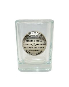 Square Bench Mark Shot glass