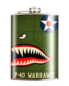 P-40 Warhawk 8 oz Flask