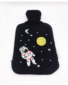 Space Knitted Hot Water Bottle