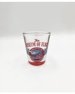 Boeing 80A Shot Glass