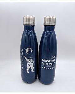 Navy Blue Disco Astronaut 17oz Bottle
