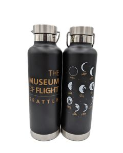 The Museum of Flight Moon Phases Water Bottle