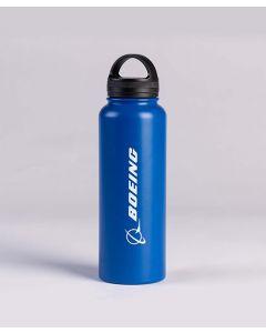 Blue Boeing Logo Water Bottle