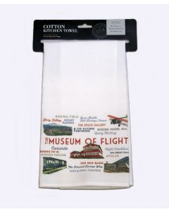 Museum Icons Kitchen Towel