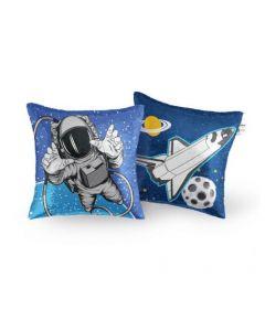Astronaut Sequin Pillow