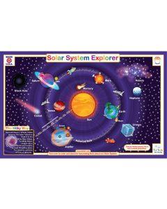 Solar System Explorer Dry Erase Placemat