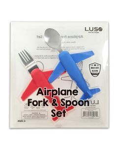 Airplane Fork & Spoon Set