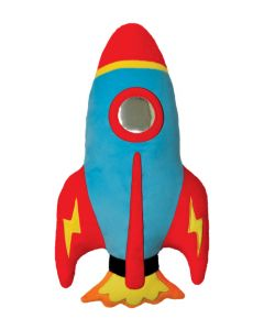Rocket Shaped Scented Pillow