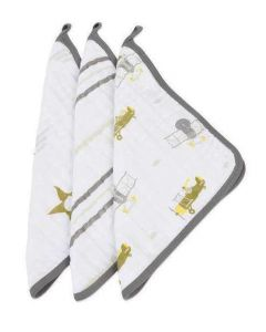 In The Sky Washcloth Set of 3
