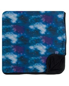 Galaxy Print Toddler Blanket