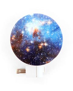 Round Galaxy Night Light