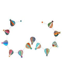 Hot Air Balloon Paper Garland