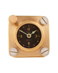 Brass Spitfire Cockpit Clock