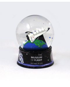 Charles Simonyi Space Gallery Shuttle Waterglobe