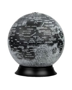 "12"" Illuminated National Geographic Moon Globe"