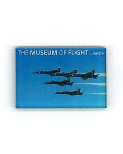 F/A-18 Blue Angels in flight magnet