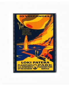 Loki Patera Planetary Park IO Volcanoes  magnet