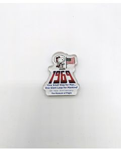 Snoopy 1969 Moon Landing 50th Anniversary Magnet