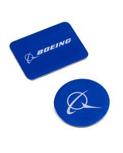 Boeing Logo Blue Magnet Set