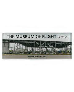 Aviation Pavilion Panorama Photograph Magnet