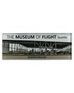 Aviation Pavilion Panorama Photograph Magnet