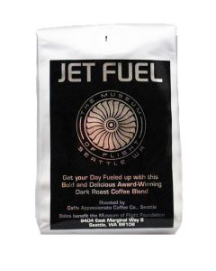 Jet Fuel Dark Roast Coffee .5LBS